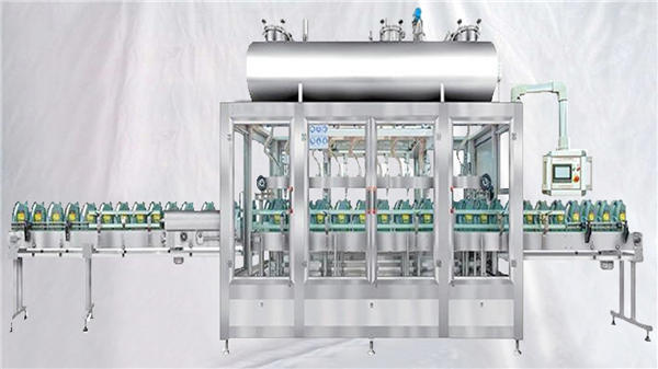 Tehtalni rotacijski polnilni stroj za maziva