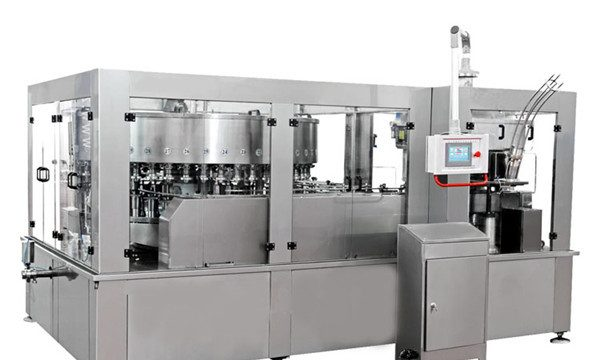 Avtomatski polnilni stroj iz aluminija za brezalkoholno pijačo