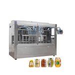 Avtomatski stroj za zajemanje medu iz steklene posode