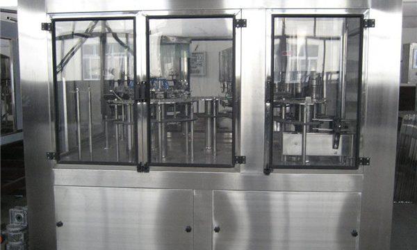 Pnevmatični polnilni stroj Mali tekoči polnilni stroj, polavtomatski polnilni stroj Cena