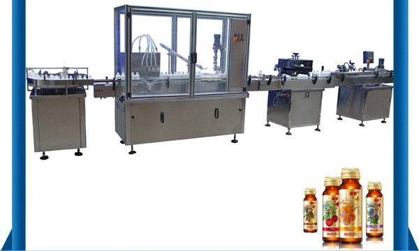Kitajski stroj za avtomatsko polnjenje z medeno steklenico