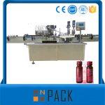 Polavtomatski avtomat za vakuumsko polnjenje s tekočino Nizka cena