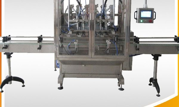 Stroj za polnjenje s tekočino za samodejno prelivanje z gravitacijsko steklenico