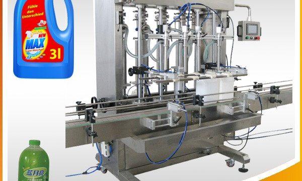 Popolnoma avtomatski stroj za polnjenje tekočih batnih nastavkov z dvojno glavo
