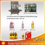 Avtomatski stroj za polnjenje 2, 4, 6, 8, 10, 12 glav jedilnega kuhalnega olja