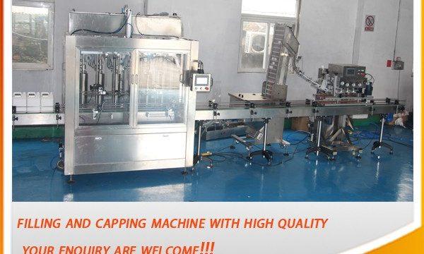 Visoko učinkovit 5-litrski avtomatski polnilni stroj za olje