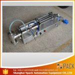 Polavtomatski stroj za polnjenje bata Idealen stroj za polnjenje z oljem