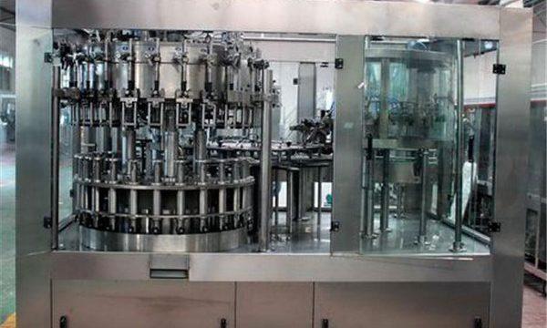 Samodejni stroj za polnjenje iz nerjavečega jekla za olje / prečiščeno vodo