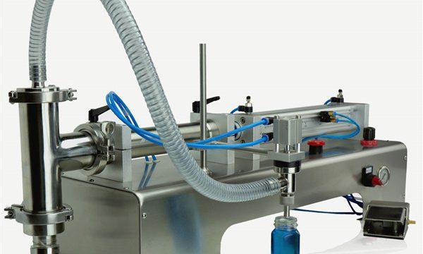 Pnevmatični krmilni stroj z dvojnimi glavami Lube za polnjenje olja