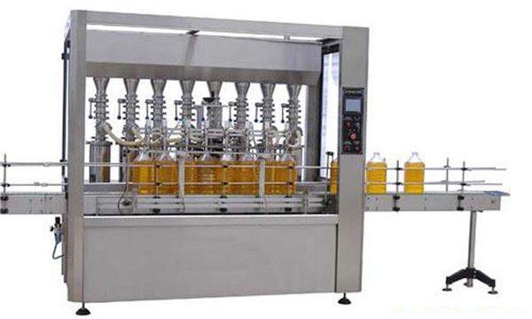 Visoko natančen avtomatski stroj za mazanje / jedilno olje 2000ml-5000ml