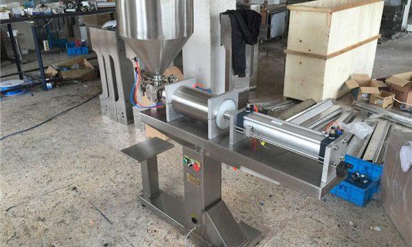 Polavtomatski stroj za polnjenje medu z eno glavo