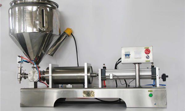 Čisti pnevmatični polavtomatski avtomat za polnjenje sadja