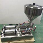 Široko uporabljen stroj za polnjenje jagod z dvojnimi glavami