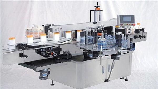 Stroj za nalepko zgornje površine s stekleničnimi parfumi