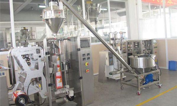 Stroj za polnjenje praška in avtomatskih vrečk za prah