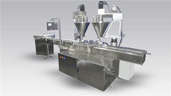 Stroj za polnjenje kave v prahu s 6-glavo avtomatiko