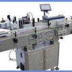Proizvajalec s tiskalnikom samodejni stroj za etiketiranje okrogle steklenice NPACK