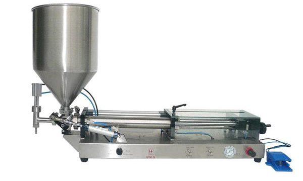 Polavtomatski stroj za polnjenje kečap