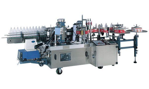 Avtomatski stroj za etiketiranje majhnih steklenic