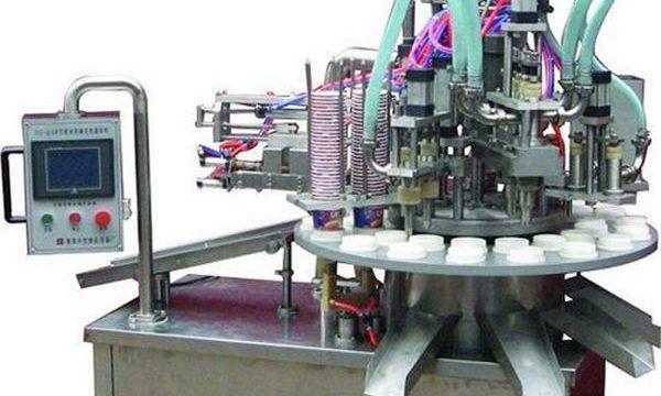 Samodejni kozmetični stroj za polnjenje mazil / krem