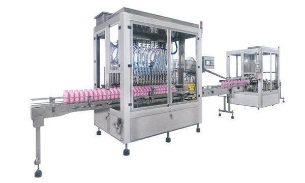 Avtomatski stroj za polnjenje detergenta iz nerjavečega jekla