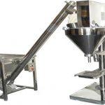 Polavtomatski stroj za polnjenje suhega praška