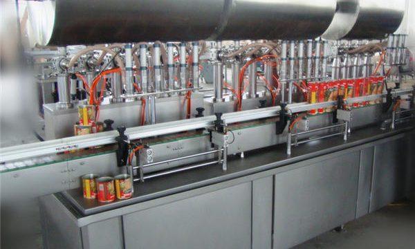 Popolnoma avtomatski stroj za polnjenje Chili paste z dvojno glavo