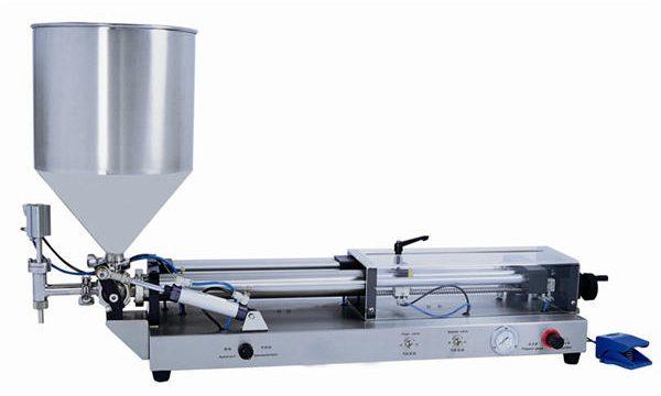 Polavtomatski stroj za polnjenje paste za 3mL-5L
