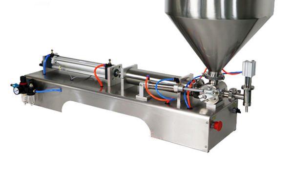 100-1000ml polavtomatski stroj za polnjenje krem